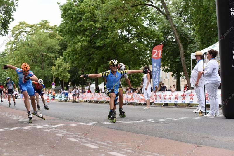 14/06/2015 :  15ème édition du Roller Marathon de Dijon